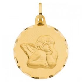 Pendentif enfant - Médaille ange