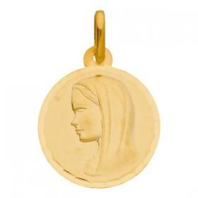 Pendentif enfant - Médaille vierge